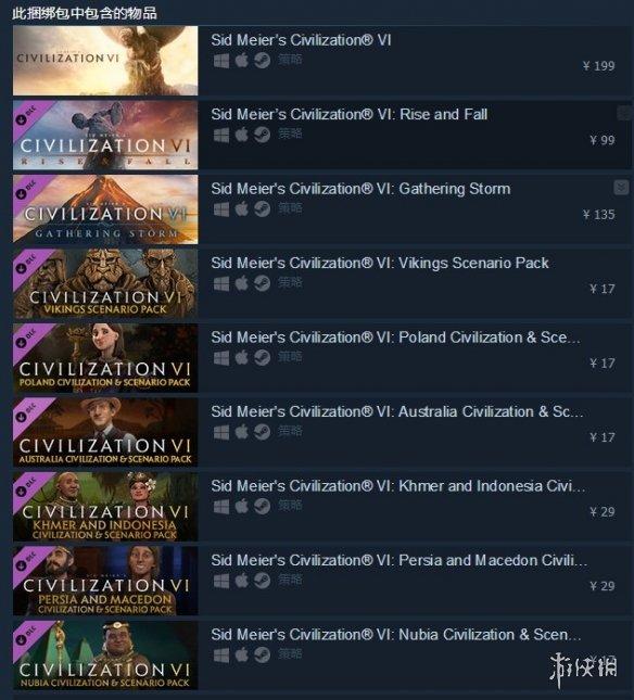 Steam《文明6》惊现临时工bug!白金版0.8折几乎白给!