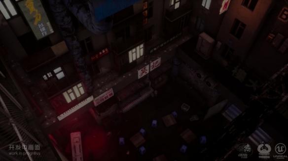 国产动作《生死轮回》首曝场景演示 破解高科技未来都市的诡异文字信息