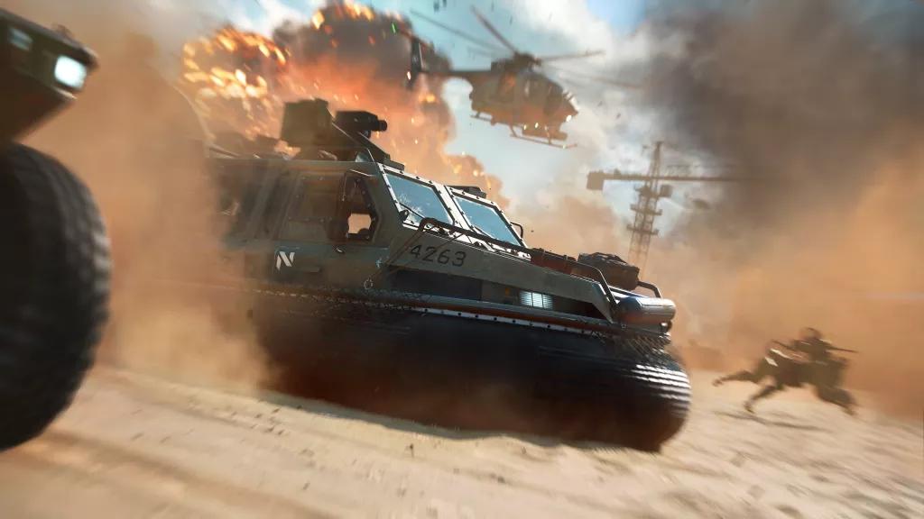 EA发布消息称《战地2042》或许将支持跨平台游玩!