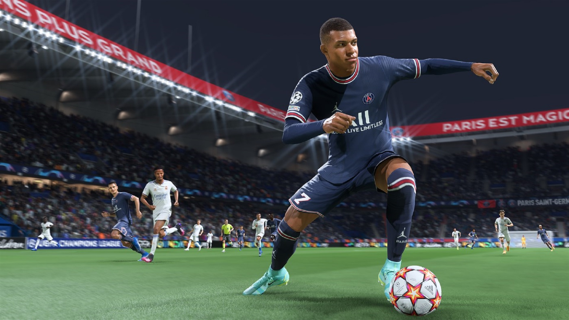 《FIFA 22》Xbox版容量约50 GB 次世代与上世代相同