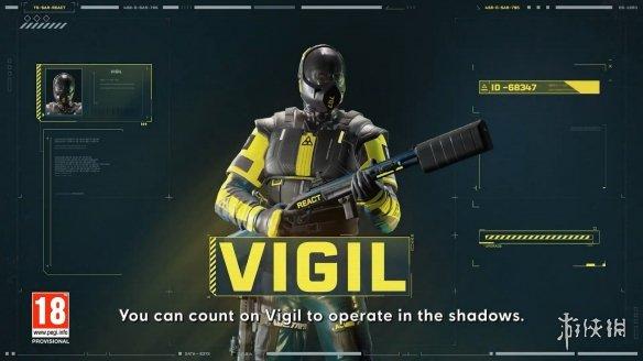 一流的潜行大师!《彩六:异种》「Vigil」干员预告片