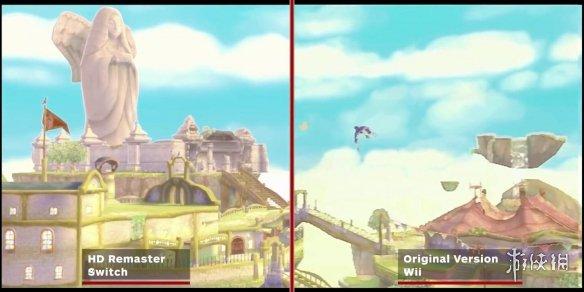 《塞尔达御天之剑》HD版与原版对比:区别微不可查