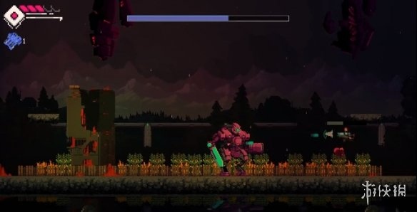 机械臂猛男保卫家园 像素动作游戏《霍尔特》免费领取