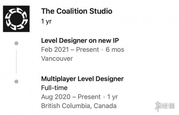 制作《战争机器5》的工作室正在开发全新IP!上线时间仍是遥遥无期