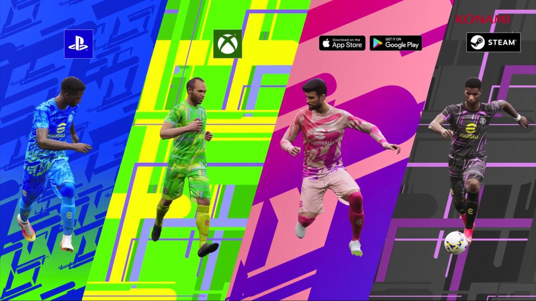 科乐美《实况足球》新作今秋免费发布!将长期更新