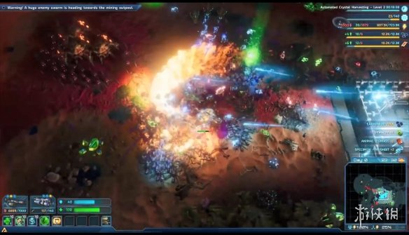 《银河破裂者》中字演示视频 可建立多个外星基地!