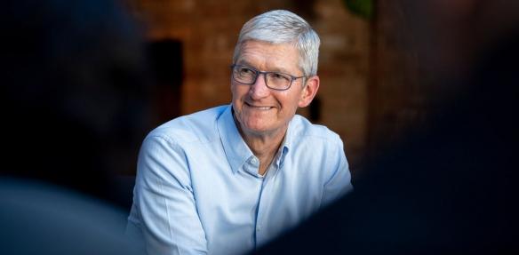 第一家捐款外企!库克:苹果将支持河南救援和重建工作