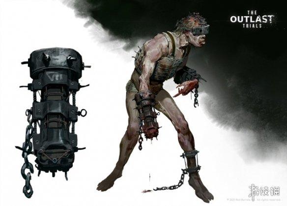 《【天游测速注册】《逃生:审判》全公布惊悚设计图:敌人造型不寒而栗》