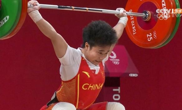 侯志慧夺下东京奥运会中国队第二金!创造女举新纪录