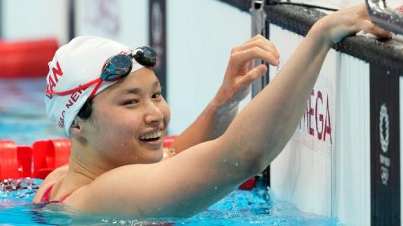 加拿大华裔选手100米蝶泳夺冠 1岁被加拿大夫妇收养