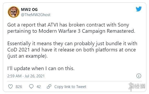 PS独占特权结束?传《现代战争3》或全平台同时发售!
