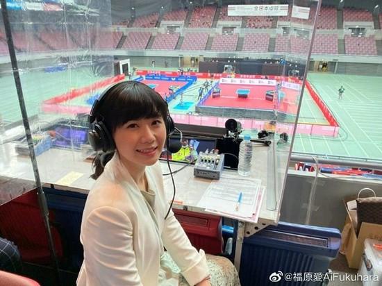 """福原爱在东奥会:坦言""""想到了2008年的北京奥运""""!"""
