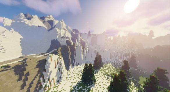 高玩将在《我的世界》中打造《荒野之息》完整地图!