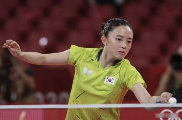 韩国奥运美女田志希颜值引争议!乒乓球女将竟是河北人