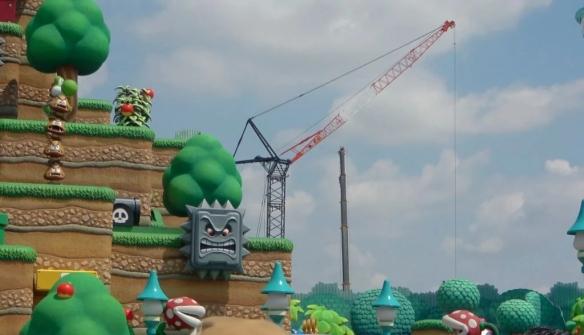 """超级任天堂世界""""大金刚""""主题公园正在建设中!或将是矿车主题过山车"""