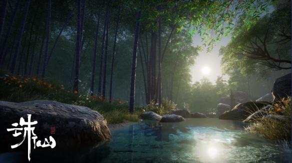 CJ现场国风游戏画质最强 完美世界《诛仙世界》堪称次世代国风仙侠标杆