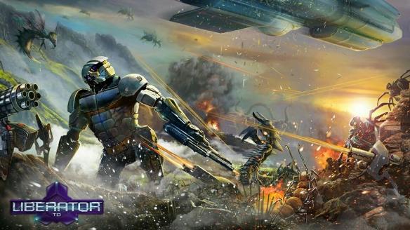 """""""绿光遗老""""《解放者塔防》宣布参展科隆游戏展 游戏中文版将同步发售"""