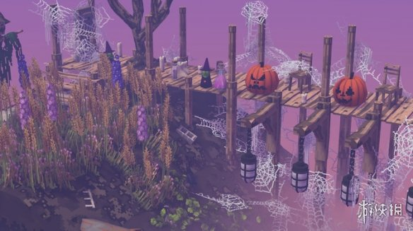 Steam好评沙盒新游《云中庭》已正式发售!支持简中
