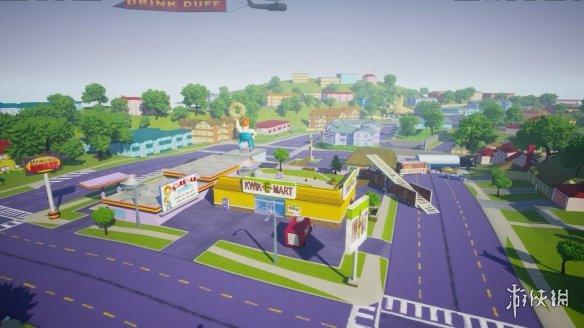 粉丝虚幻5重制《辛普森大逃亡》 建模、收集品、载具甚至包括Duff飞艇