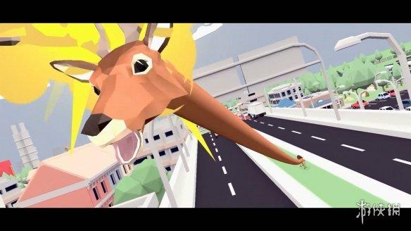 沙雕游戏《非常普通的鹿》将推出正式版 可随意伸缩脖子及大量古怪道具