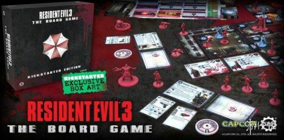基于原作忠于原作《生化危机3》新版桌游即将发售 售价99.95元
