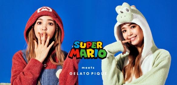 任天堂与GelatoPique推出联名睡衣 9月13日开始网上发售