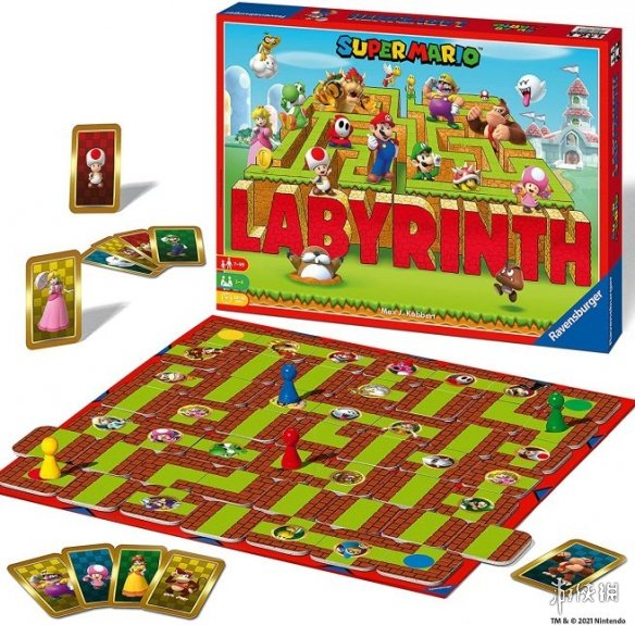 桌游《奇幻迷宫》将推出马里奥及宝可梦款 皮卡丘、小火龙等登场
