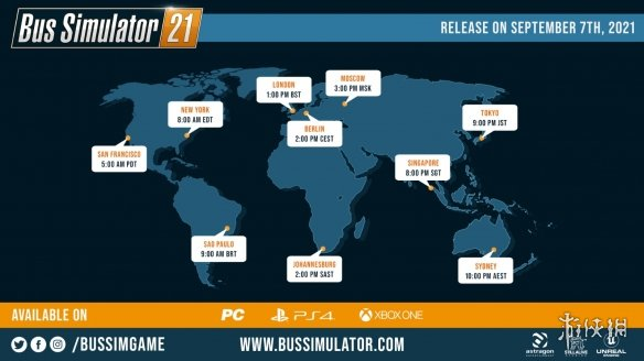 巴士模拟系列游戏新作《巴士模拟21》Steam现已解锁 目前国区售价195元
