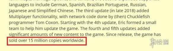一人可当百万师!种田游戏《星露谷物语》全平台销量超1500万