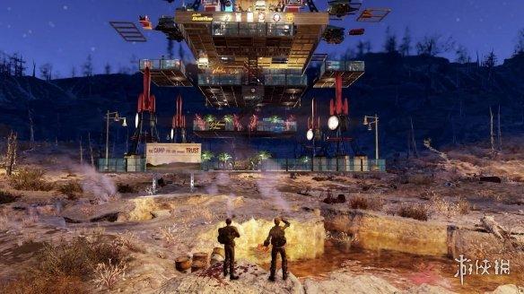 《辐射76》最新DLC「辐射世界」现已上线 新增自定义工具建造自己世界
