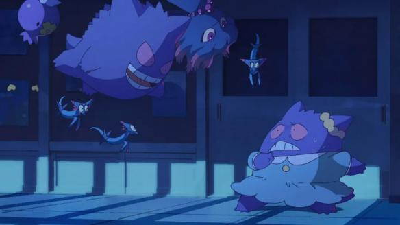 Poketoon系列动画:一个小女孩意外变成耿鬼的奇妙故事