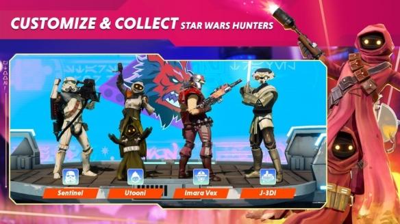 多人竞技射击类游戏《星球大战:猎人》首批截图发布 展示大量游戏内容