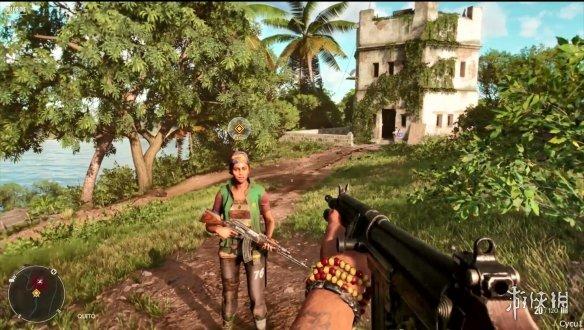 《孤岛惊魂6》预告片、超长实机演示 可单人或多人合作