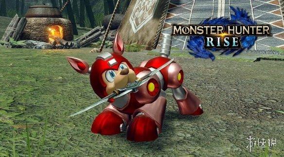 《怪猎:崛起》X《洛克人》联动24日上线 增加新随从莱西