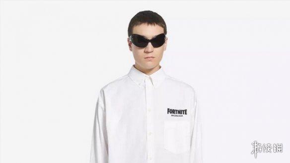"""《堡垒之夜》与巴黎世家合作 一件印有""""Fortnite""""的衬衫售价995美元"""