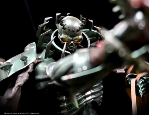 《剑风传奇》巨型骷髅骑士雕像预售 20公斤霸气侧漏