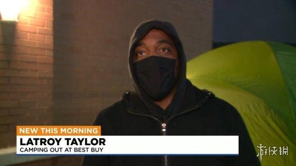 一把辛酸泪!为抢PS5 与 XSX玩家凌晨在百思买撑帐篷