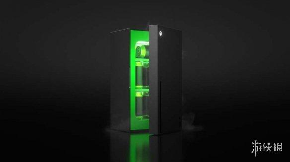 xbox主机造型冰箱真来了!能装10罐350毫升快乐水!