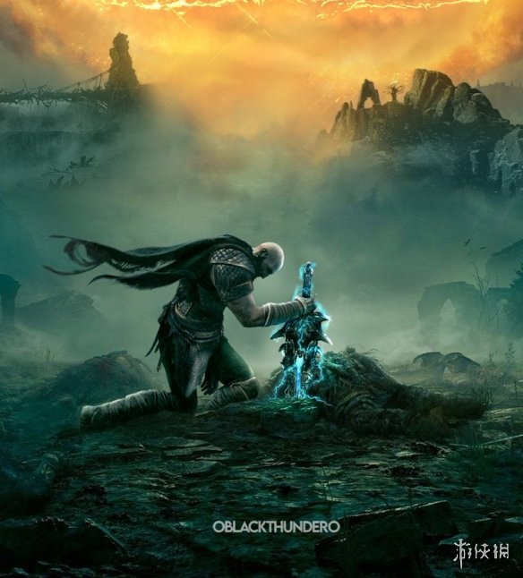 粉丝绘制《战神5》概念图:威风凛凛的奎爷再次拿起奥林匹斯圣剑
