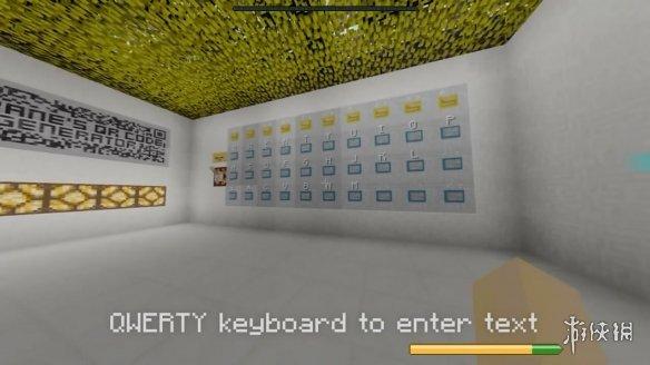 《我的世界》玩家用红石造二维码生成器 可用键盘输入信息