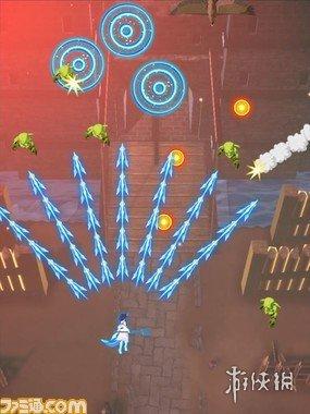 《小林家的龙女仆》改编游戏截图披露 游戏模式类似《雷电》