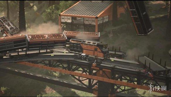 《幸福工厂》5号更新将加入火车信号灯与碰撞系统!
