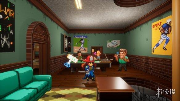 拯救大火中的市民!模拟游戏《消防女孩》上架Steam