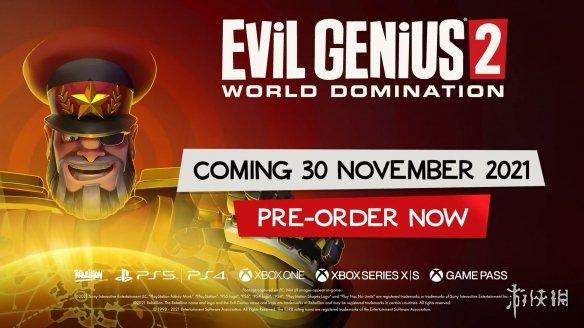 主机版《邪恶天才2》将于11月30日发售!新预告片欣赏
