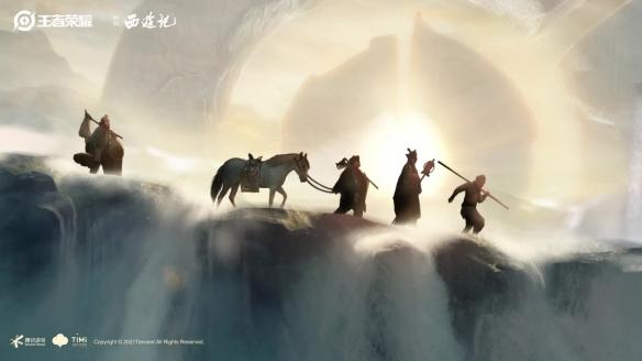 和悟空一起在《王者荣耀》中重走西游路