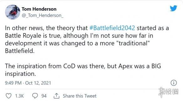 爆料者称《战地2042》原是吃鸡游戏 128人超大战场或另有用途