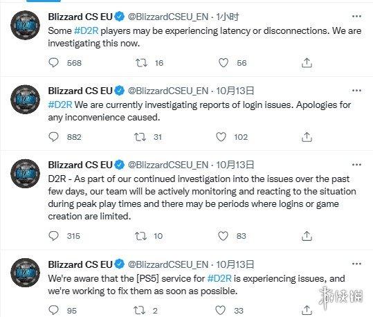 《暗黑2:重制版》炸服六天!玩家要求暴雪退款被拒!