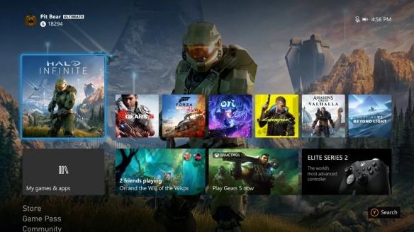 Xbox 10月更新:XSX仪表板系统4K渲染 并加入新模式